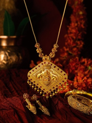 Indian Gold Necklace For Women