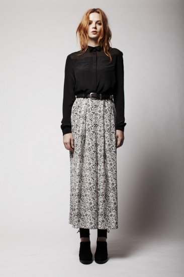 Moleskin Long Skirt