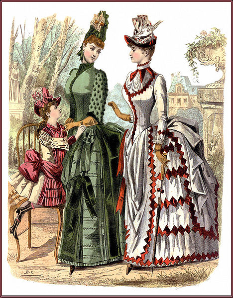 Victorian Era Clothing Women Fashion Belief