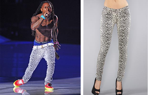 Animal Print Pants For Men Lmfao