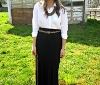 Make an Elegant Appearance with Maxi Skirts Outfits