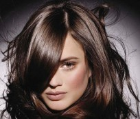 Try to Look Charming with Highlight Brown Hair