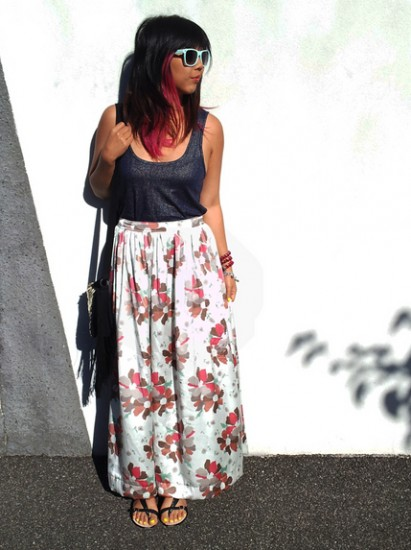 Best Way toWear Long Skirt