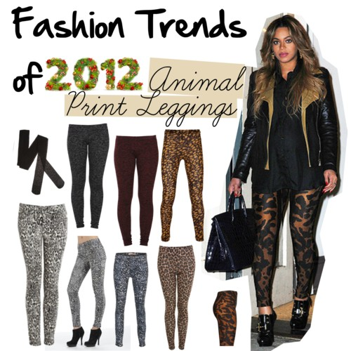 Beyonce Animal Print Leggings
