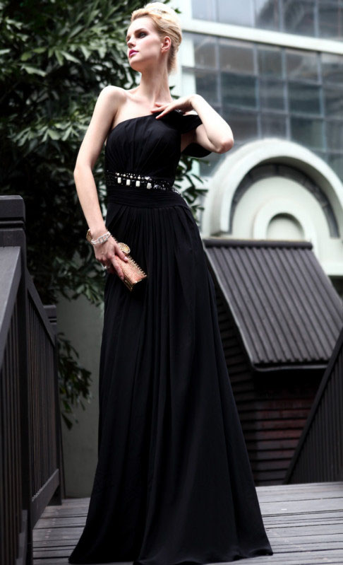 Black Evening Gowns Picts