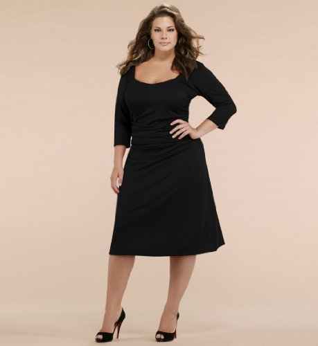 Black Plus Size Bridesmaid Dresses