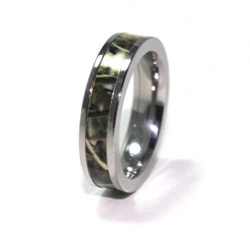 Camo Wedding Rings for Him