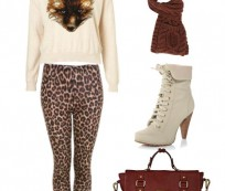 Be Stylist and Fashionable with Cheetah Print Leggings