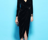 Show Your Sex Appeal with Deep V Neck Dress