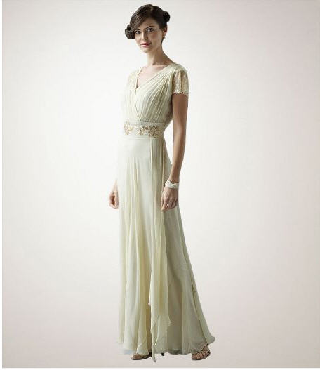 Designer Vintage Wedding Dress