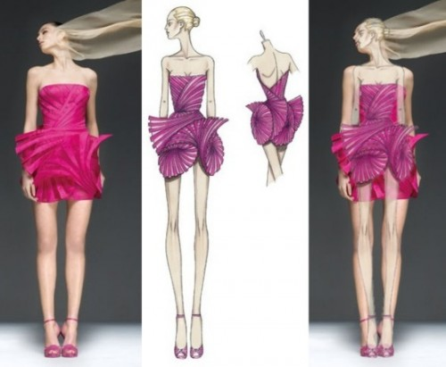 Fashion Designer Drawings