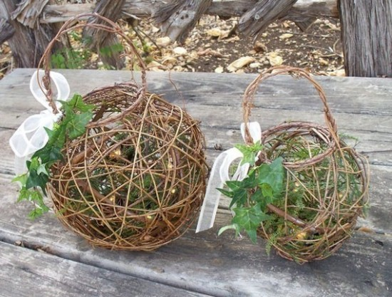 Flower Girl Baskets Alternatives