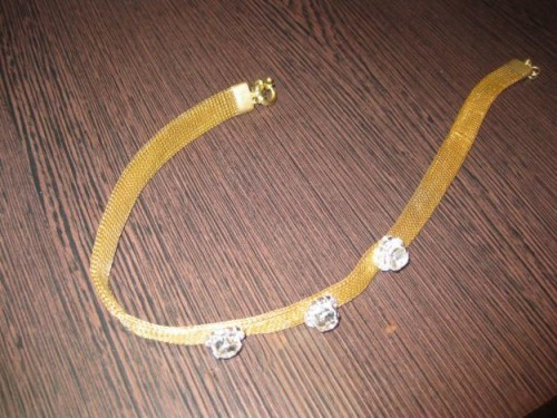 Gold Plated Necklace Design