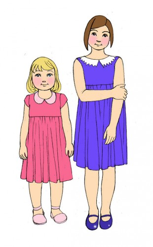How to Draw a Dress Step by Step for Kids