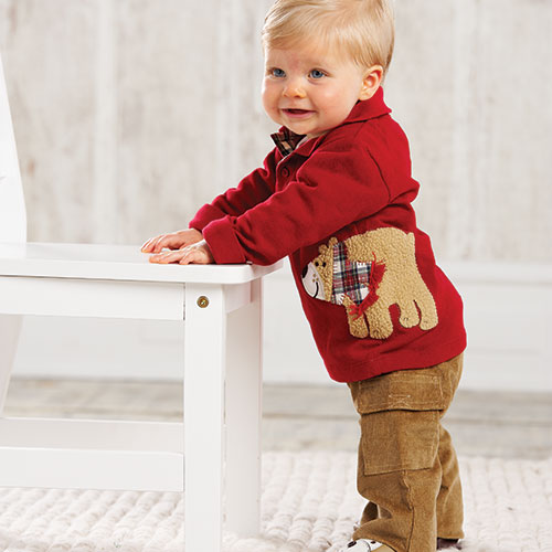 Khaki Cargo Pants For Boys