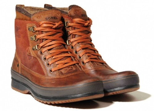 Leather Walking Boots Men