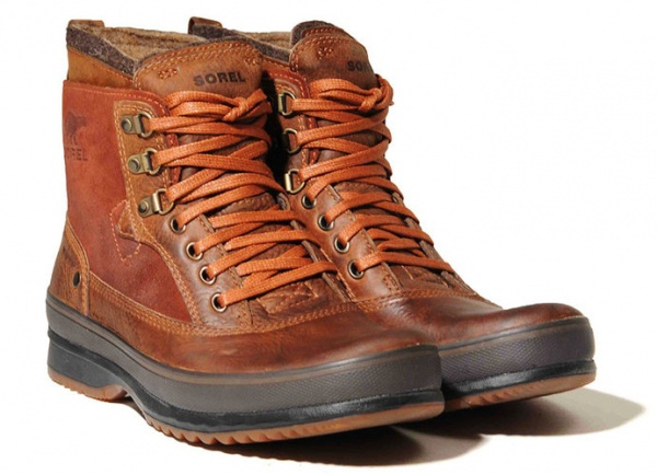 Leather Walking Boots Men Fashion Belief