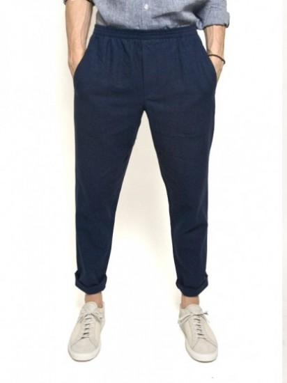 Linen Beach Pants Men