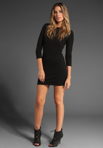 Long Sleeve Mini Dress Picts