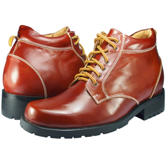 Men Dress Boots Leather