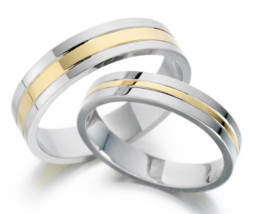 Men and Women Wedding Ring Sets