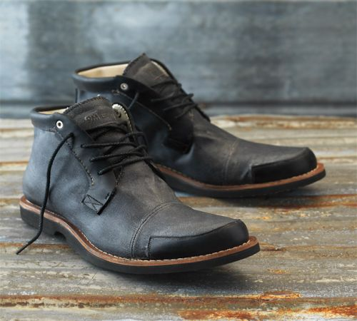 men angkle boots wear