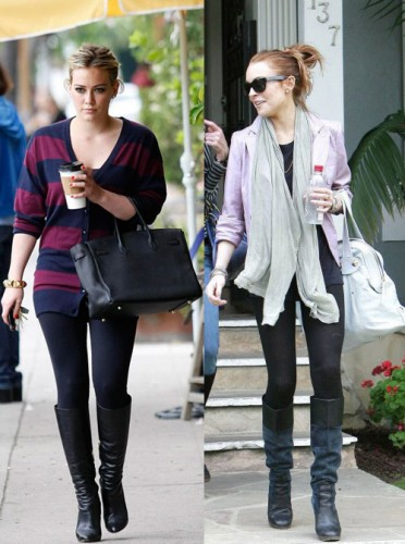 Outfits With Leggings And Boots