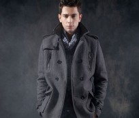 Look Stylist during Winter with Pea Coats For Men