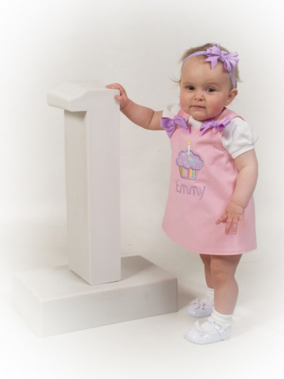Personalized 1st Birthday Outfits For Girls