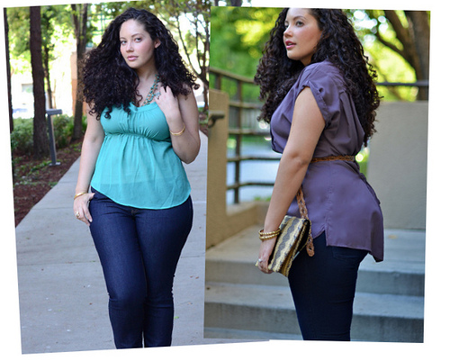 how to wear mom jeans plus size