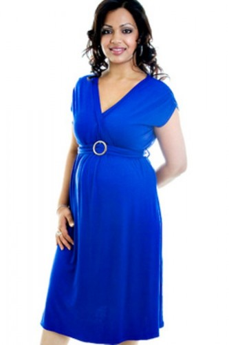 Plus Size Maternity Evening Dress