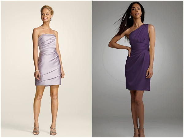 Purple Bridesmaid Dresses Davids Bridal