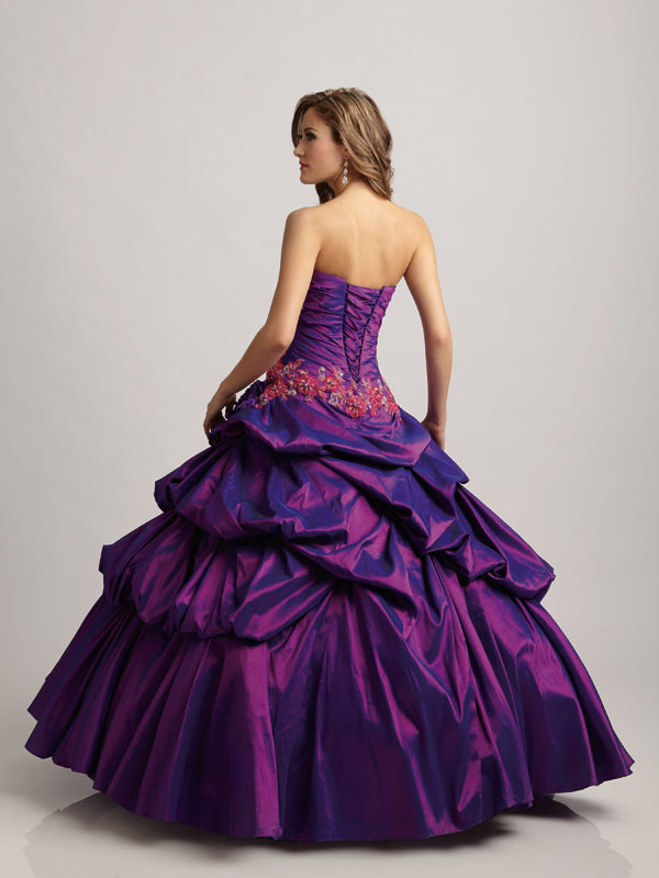 Purple Quinceanera Dresses With Stars