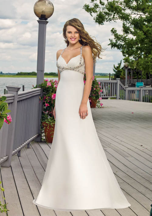 Sexy Beach Wedding Gowns