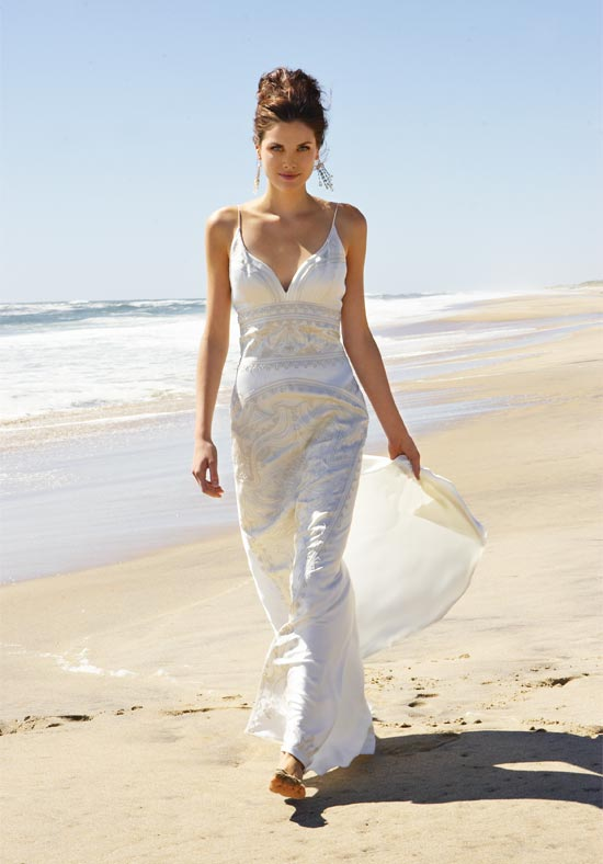 Short casual wedding dresses beach fashion belief for Short wedding dress for beach