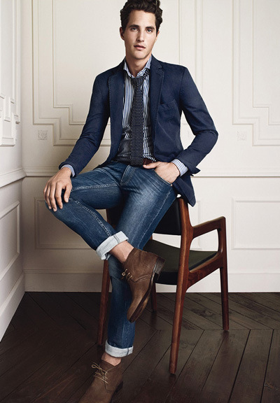 Sports Coat With Jeans Mens