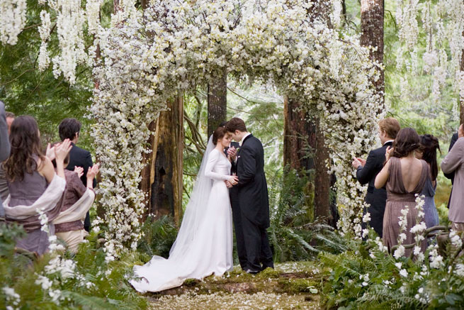 Twilight Wedding Dress in Bella's Dream