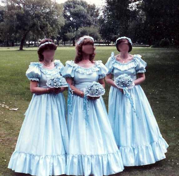 Ugly Bridesmaid Dresses To