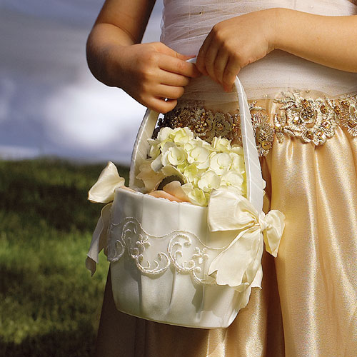 Unique Flower Girl Baskets