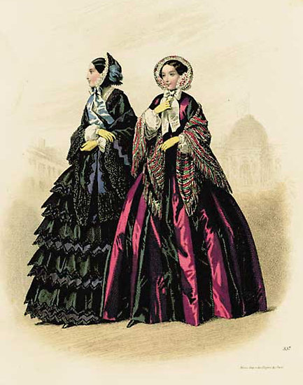 Victorian Era Fashion Women