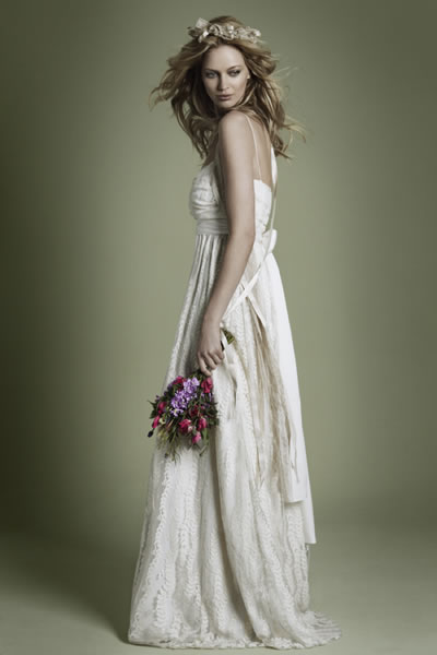 Vintage Boho Wedding Dress Fashion Belief