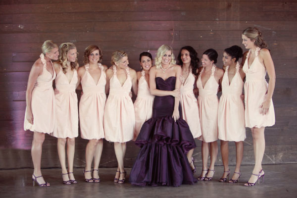 Wedding dress with color accent fashion belief for Wedding dress color meanings