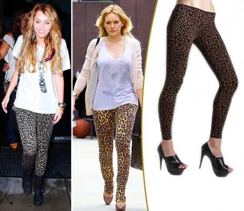 What To Wear With Animal Print Leggings