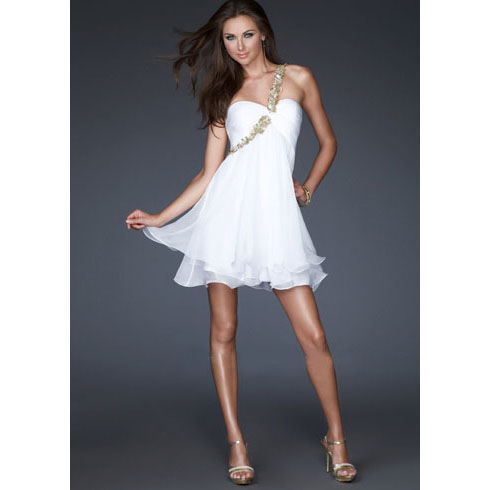 White Cocktail Dresses Under 100