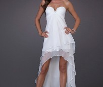Graceful and Beauty with White Dresses for Junior