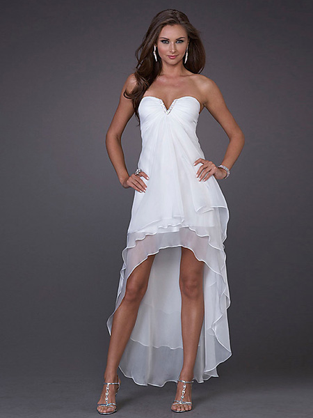 White Junior Party Dresses