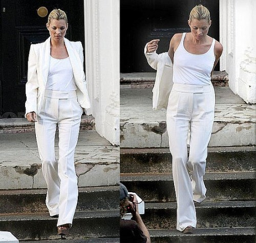 White Lines Pants For Women Photos