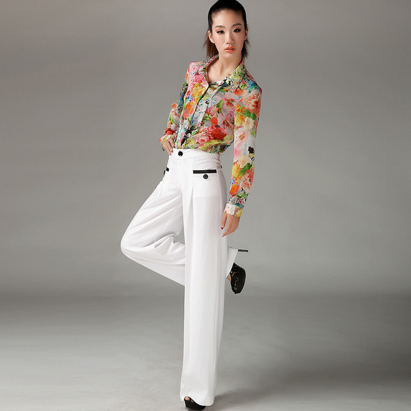 White Lines Pants For Women Picts