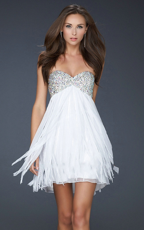 Beautiful White Cocktail Dresses