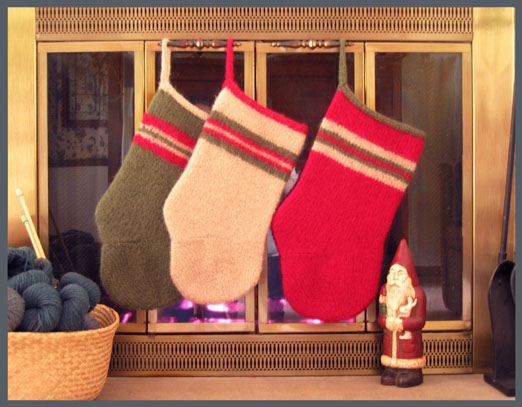 Bernat Christmas Stocking Patterns
